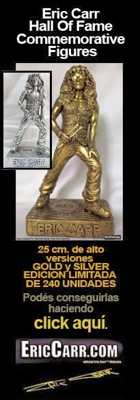 Eric Carr Hall of Fame Commemorative Figures