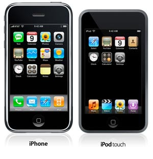 iPod Touch and the iPhone