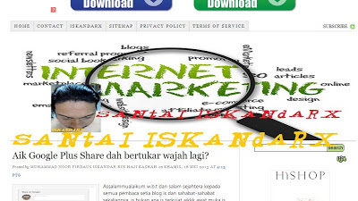 santai iskandarX, internet marketing, IM,blogging, publisher, affiliate