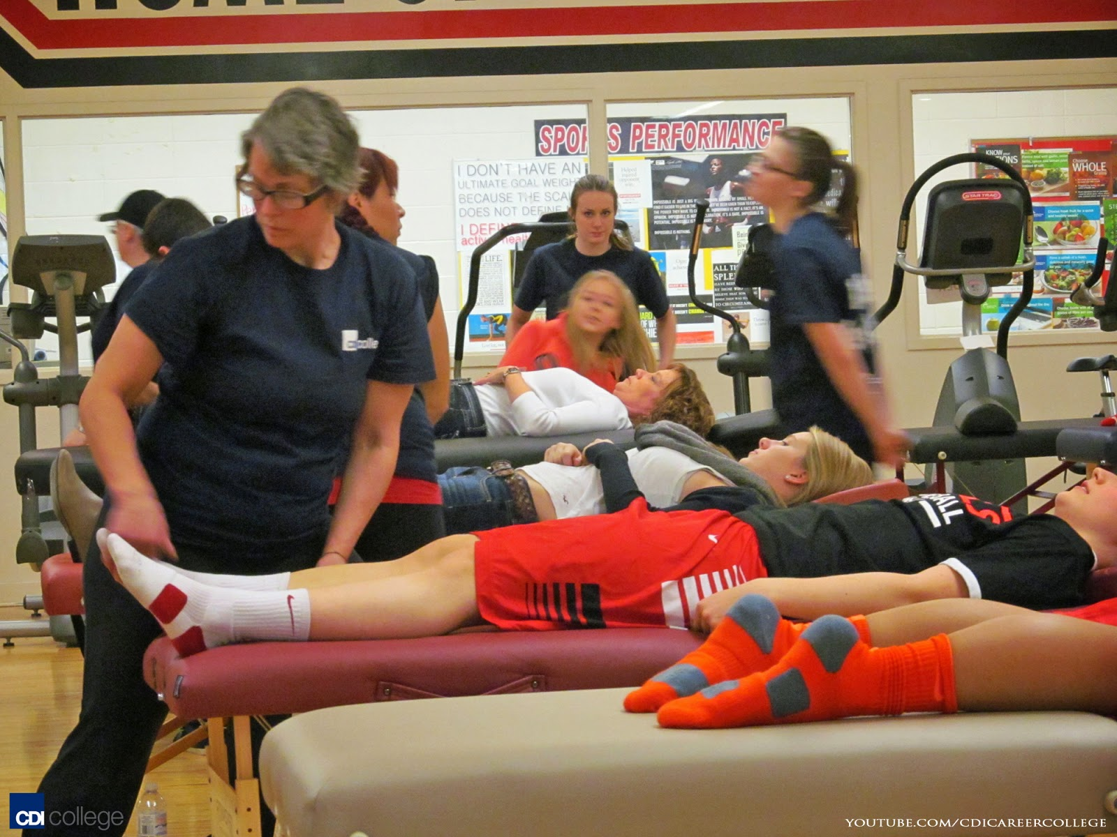 Massage Therapy subjects study in high school