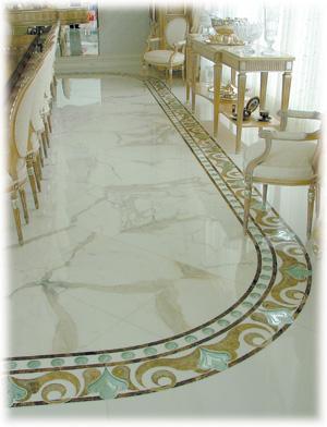 Modern homes marble floor designs ideas. | Modern Home Designs