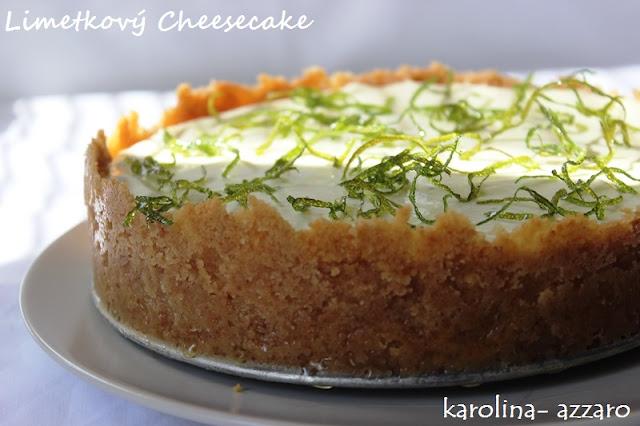 Limetkový Cheesecake (bez pečenia)