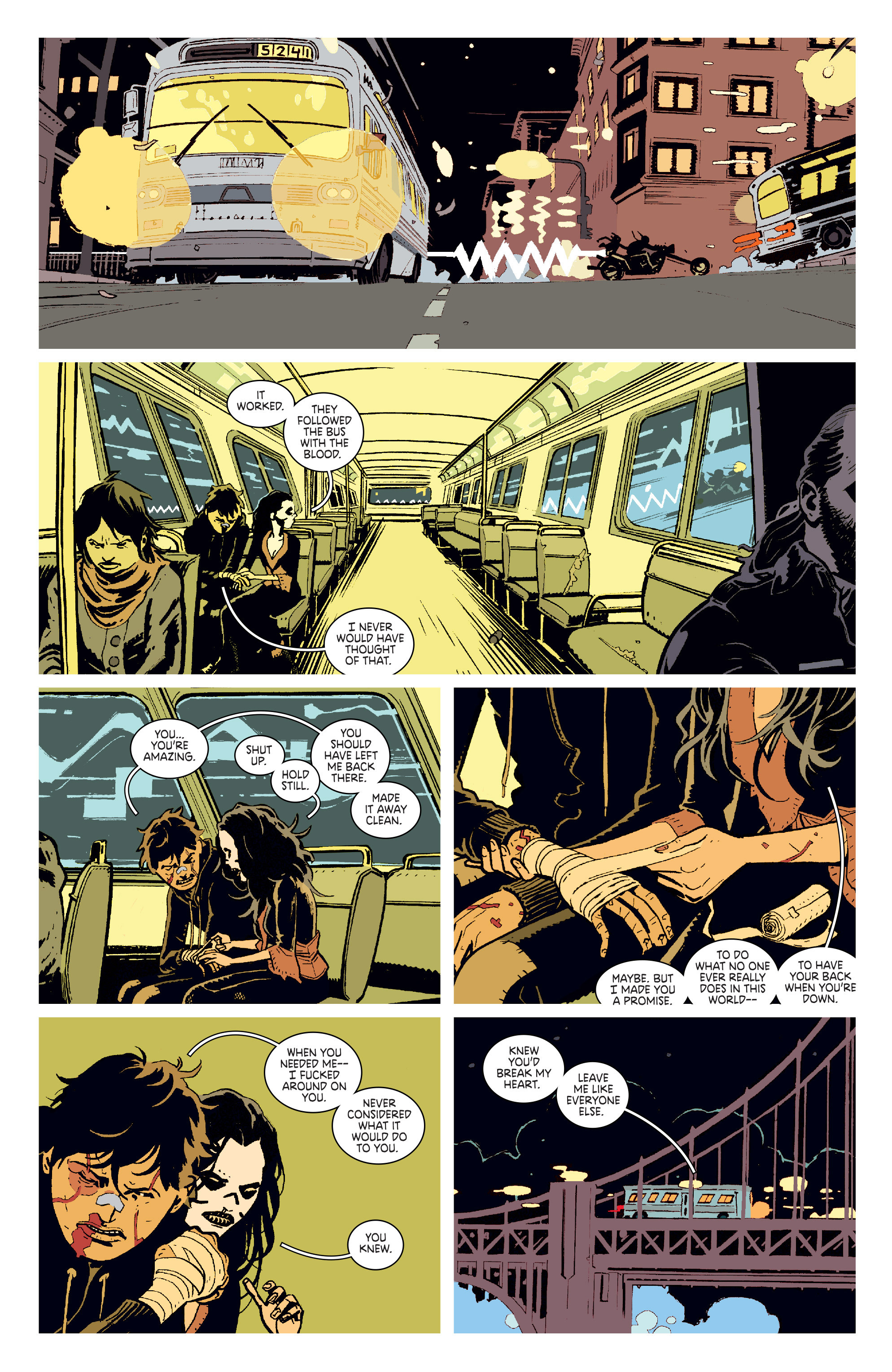 Read online Deadly Class comic -  Issue # _TPB 3 - 18