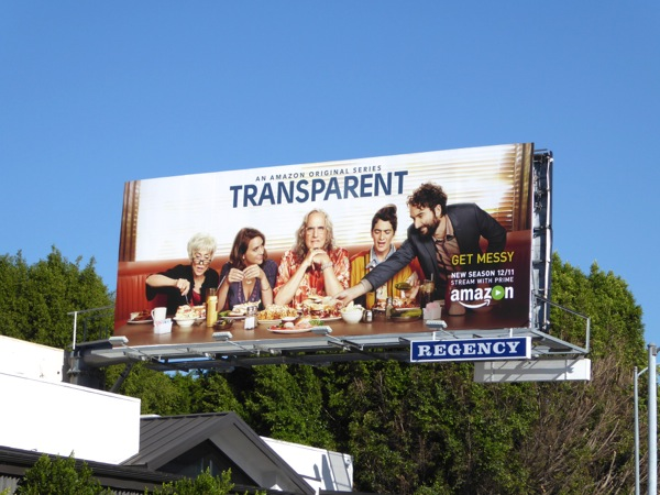 Transparent season 2 billboard