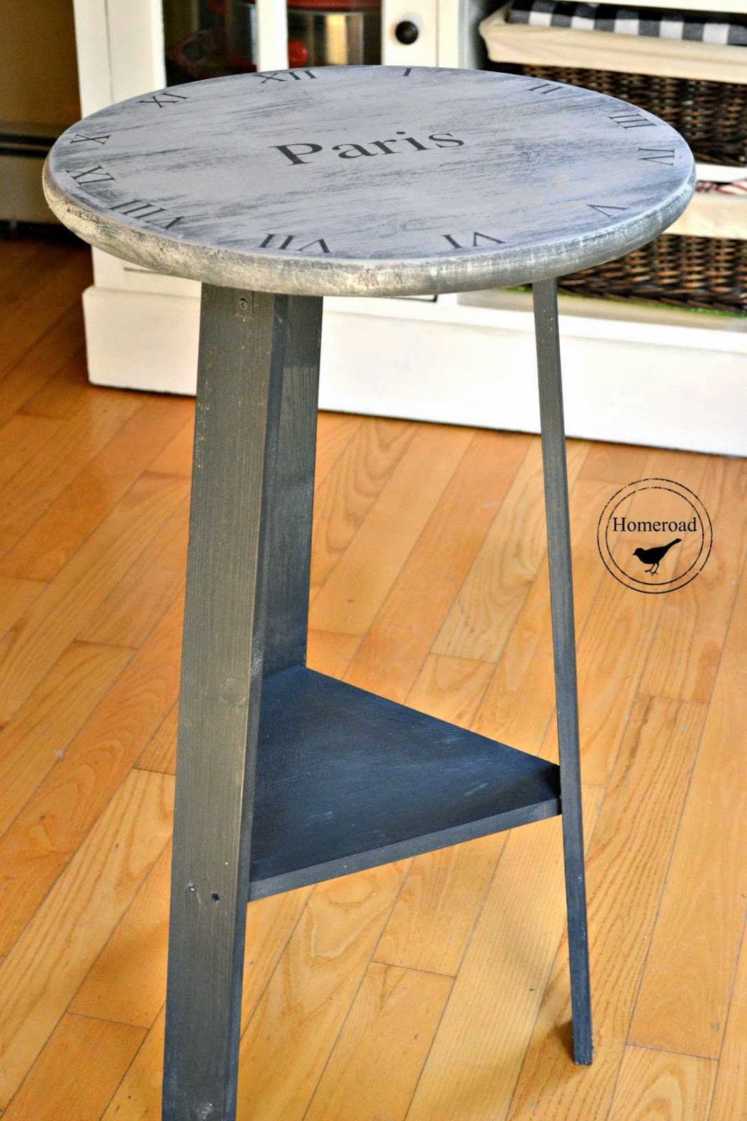 Homeroad French Clock Side Table