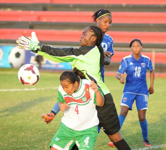 República Dominicana golea 5-1 a St Kitts-Eliminatorias Femenina Sub 20
