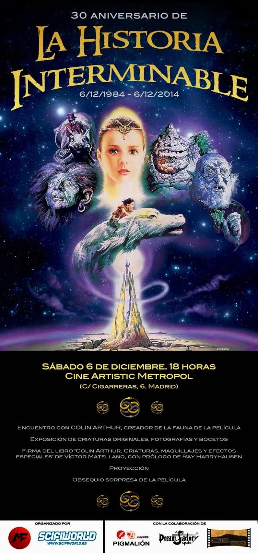 """Artistic Metropol y Scifiworld celebran los 30 años de """"La Historia Interminable"""""""