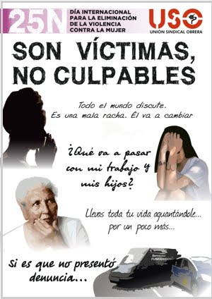 25 N SON VICTIMAS, NO CULPABLES