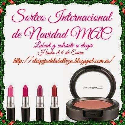 Sorteo internacional de navidad MAC