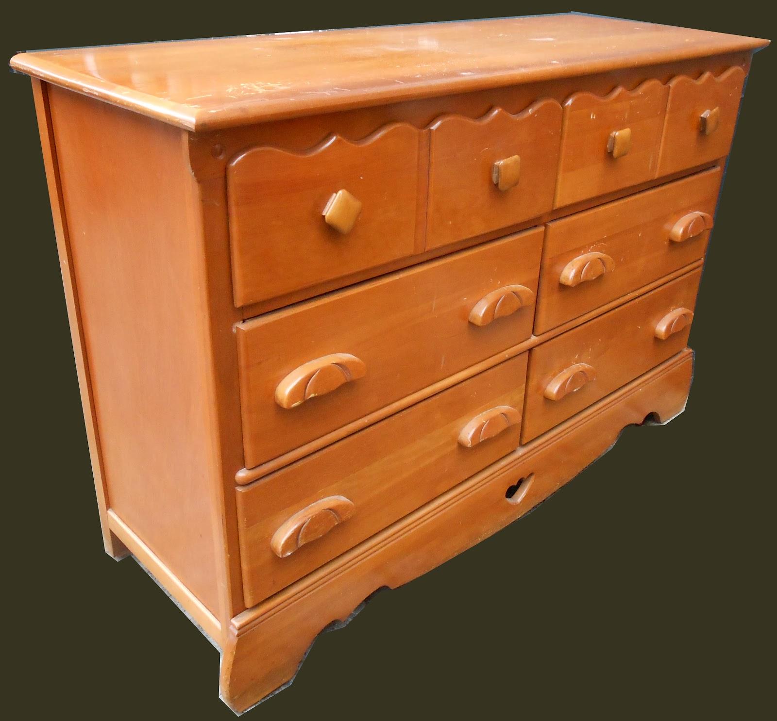 uhuru furniture collectibles rock maple dresser sold