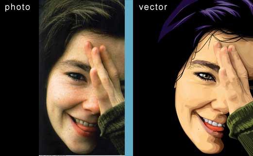Как сделать вектор для фотошопа