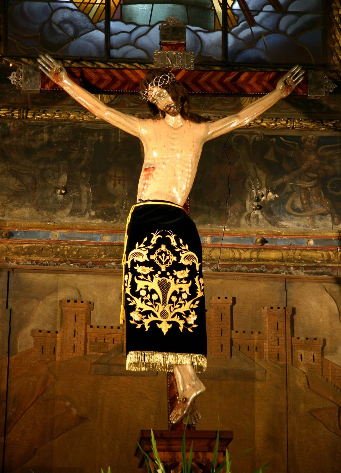 """Imagen del Santísimo Cristo de los Milagros. Extraído del blog """"jesusario"""""""