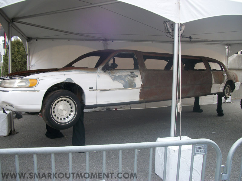 WrestleMania Axxess Vince McMahon Limousine Explosion