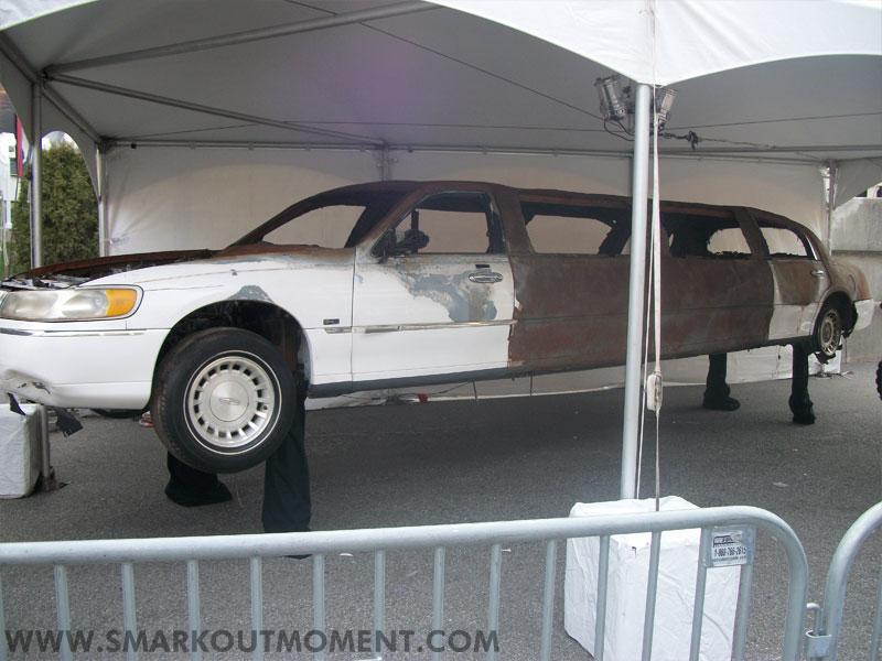 WrestleMania Axxess Vince McMahon Limousine Explosion