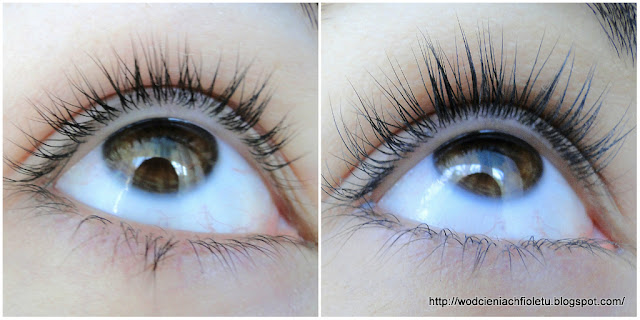 Serum do rzęs Long4Lashes- efekty