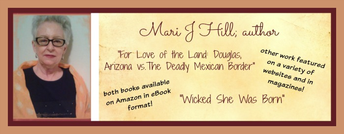 Author, Mari J. Hill