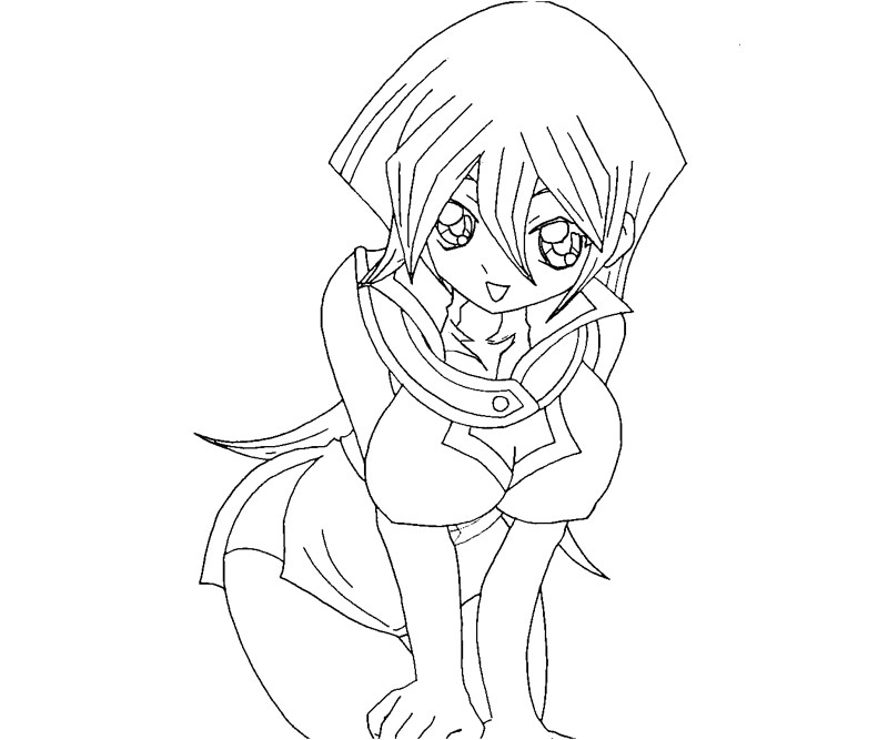 yugioh gx coloring pages - photo#16