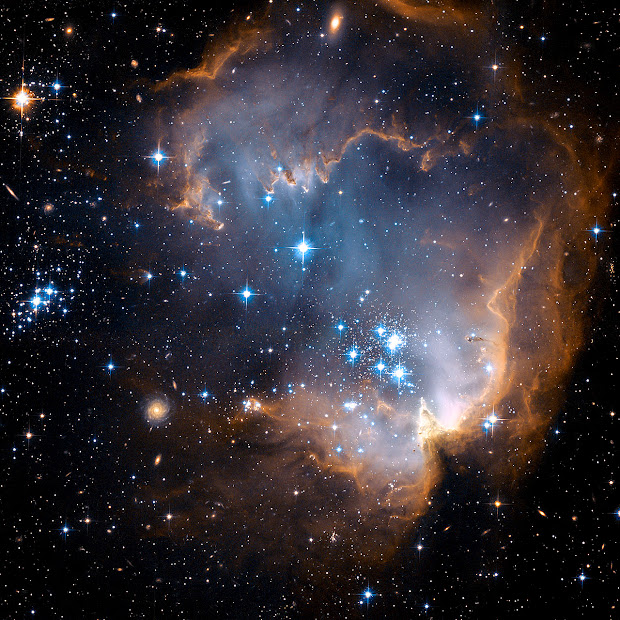 Star-Forming Region N90 in the Small Magellanic Cloud