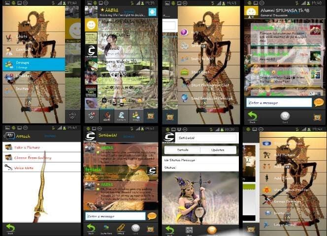 Kumpulan BBM Mod Android Terbaru