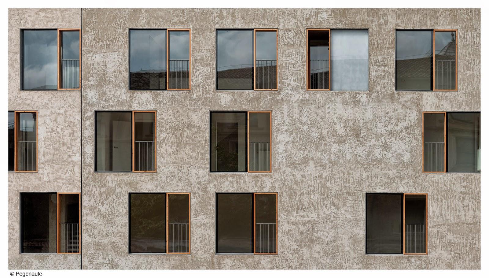 Arquitectura zona cero edificio de viviendas para realojos en el casco hist rico de pamplona de - Arquitectos en pamplona ...