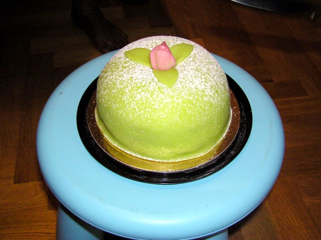 Sweden -- Princess Cake