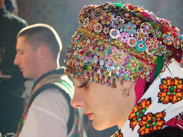 Гуцульська наречена україна
