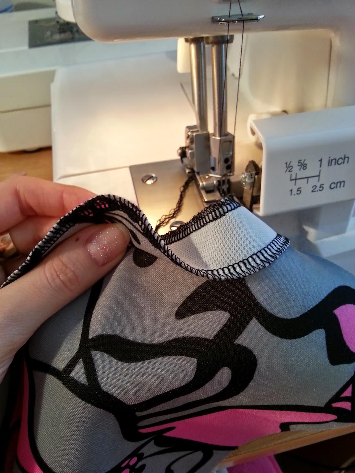 как шить на швейной машинке ягуар