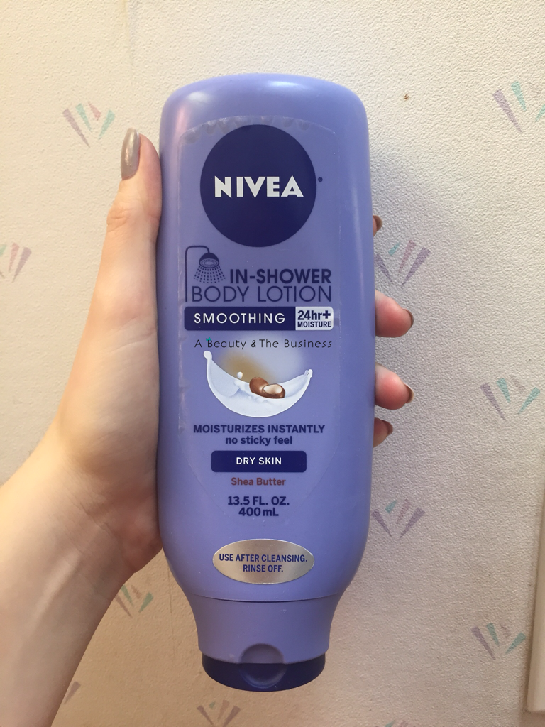 check out what i thought of niveau0027s in shower lotion in shea butter here