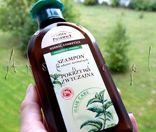 Gość z Ukrainy: szampon z pokrzywą Green Pharmacy