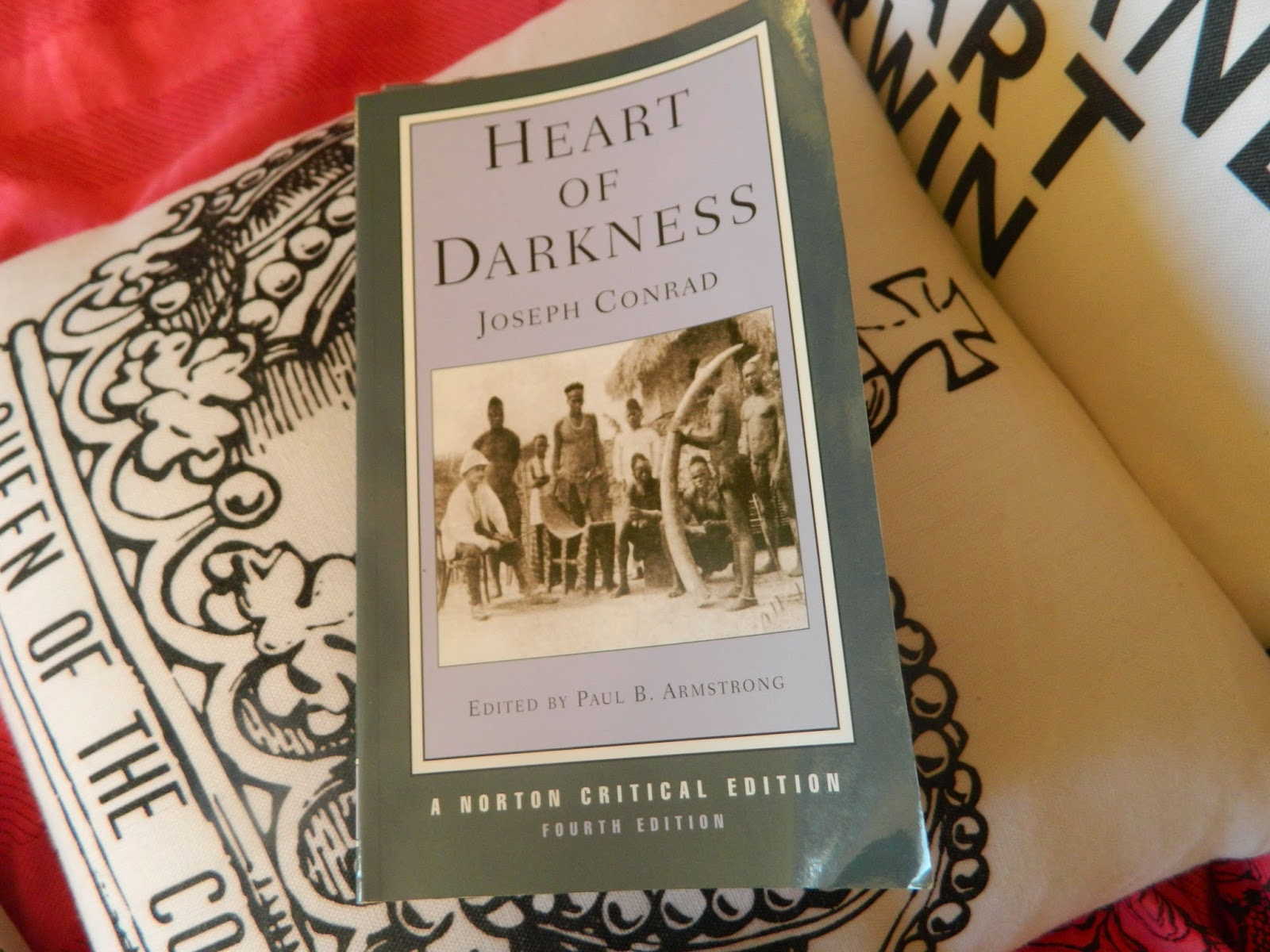 """joseph conrad heart of darkness the real world essay Heart of darkness by joseph conrad an exploration of racism in heart of darkness heart of darkness projects the image of africa as """"the other world."""