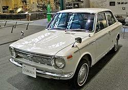 Mobil Sedan Corolla Generasi Pertama (1966-1970)