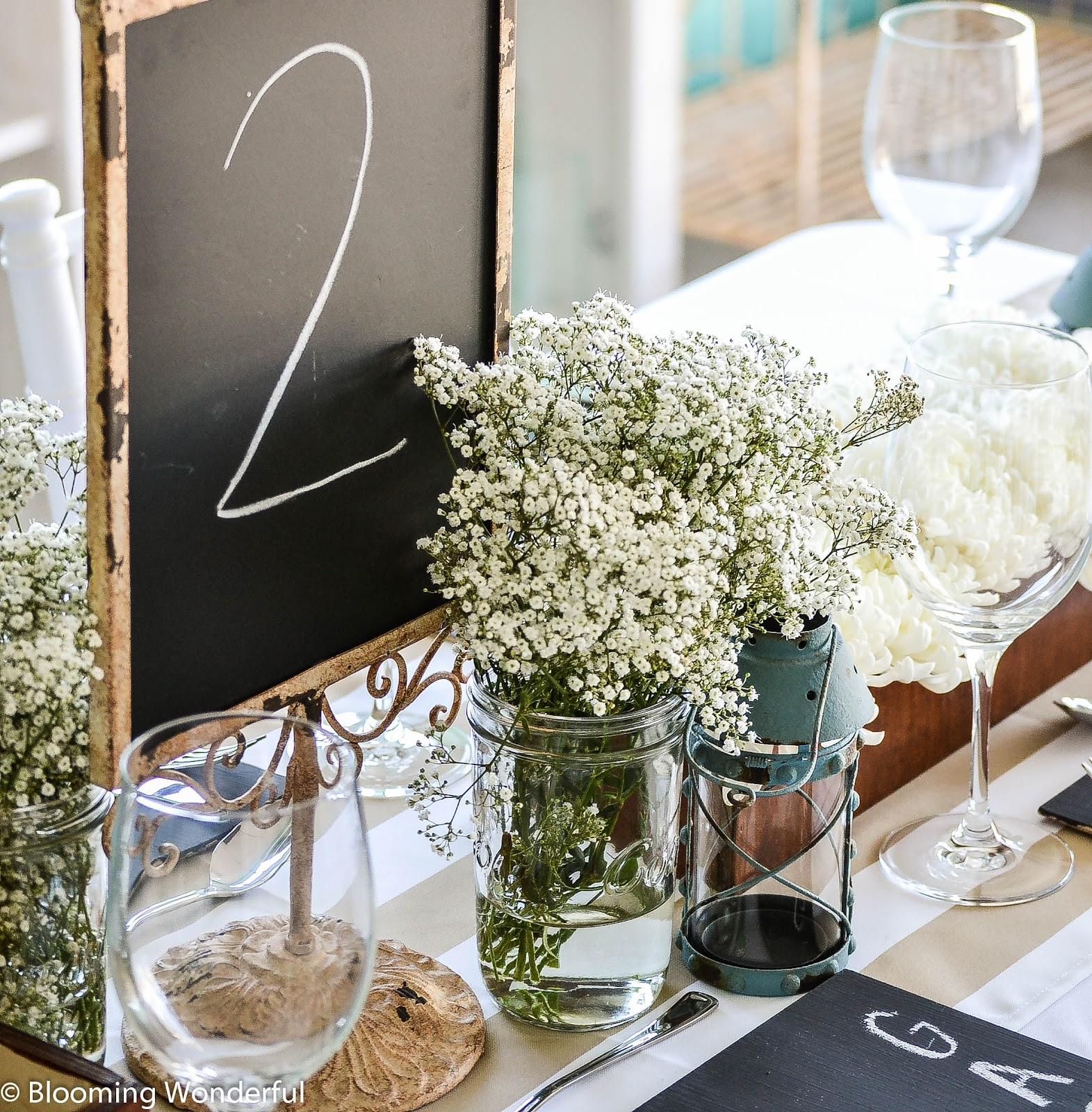 Blooming wonderful decor hire rustic charm diy package for Diy wedding decorations