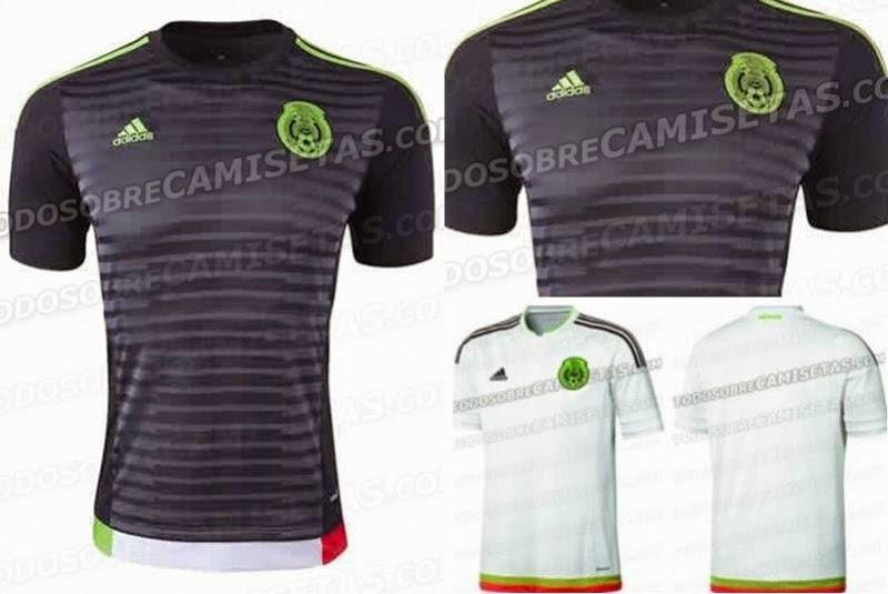 Los nuevos uniformes del TRI 2015
