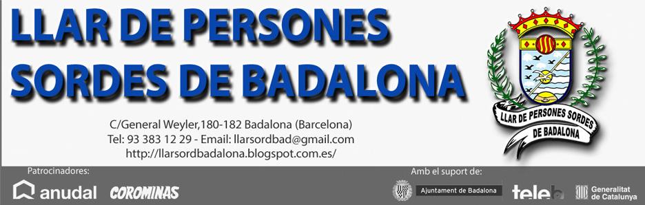 LLAR DE PERSONES SORDES DE BADALONA