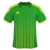Desain Jersey Gratis Sepakbola dan futsal hijau kuning
