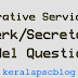 Co-operative service Exam Board Clerk/Secretary