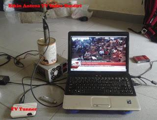 Buat Antena Tv Satelit Sendiri