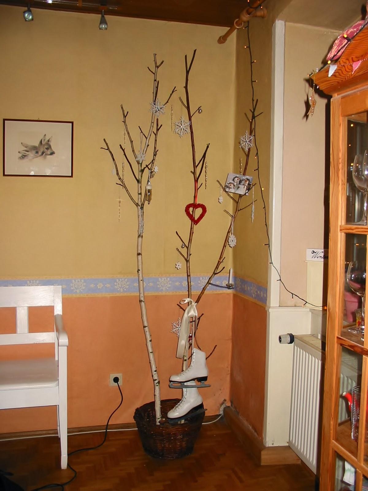 Zimtkätzchen und zuckerschnecke: ein birkenwäldchen im wohnzimmer...