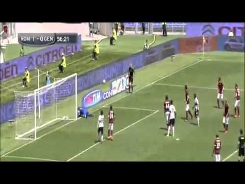اهداف مباراة روما 2 × 0 جنوى فى الدوري الايطالي الاحد 3/5/2015