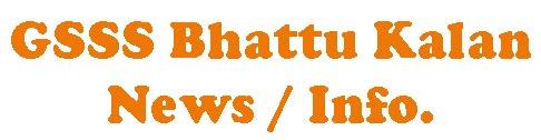 GSSS Bhattu Kalan