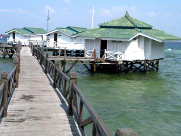 Pulau Bidadari Kepulauan Seribu