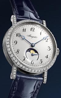 Montre Breguet Classique Phase de Lune Dame 9088
