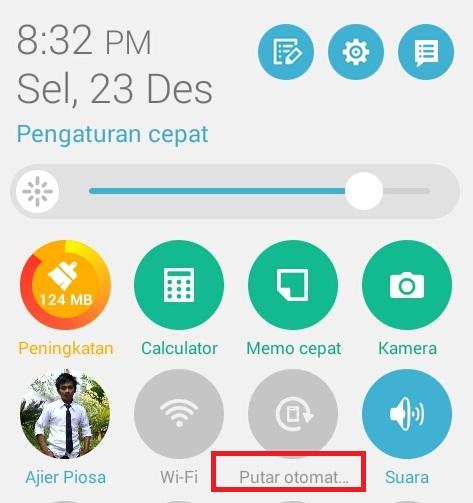 Mengatasi Layar Putar Otomatis Yang Tidak Berfungsi Pada Hp Android