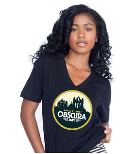 Atlas Obscura Day t shirt and poster