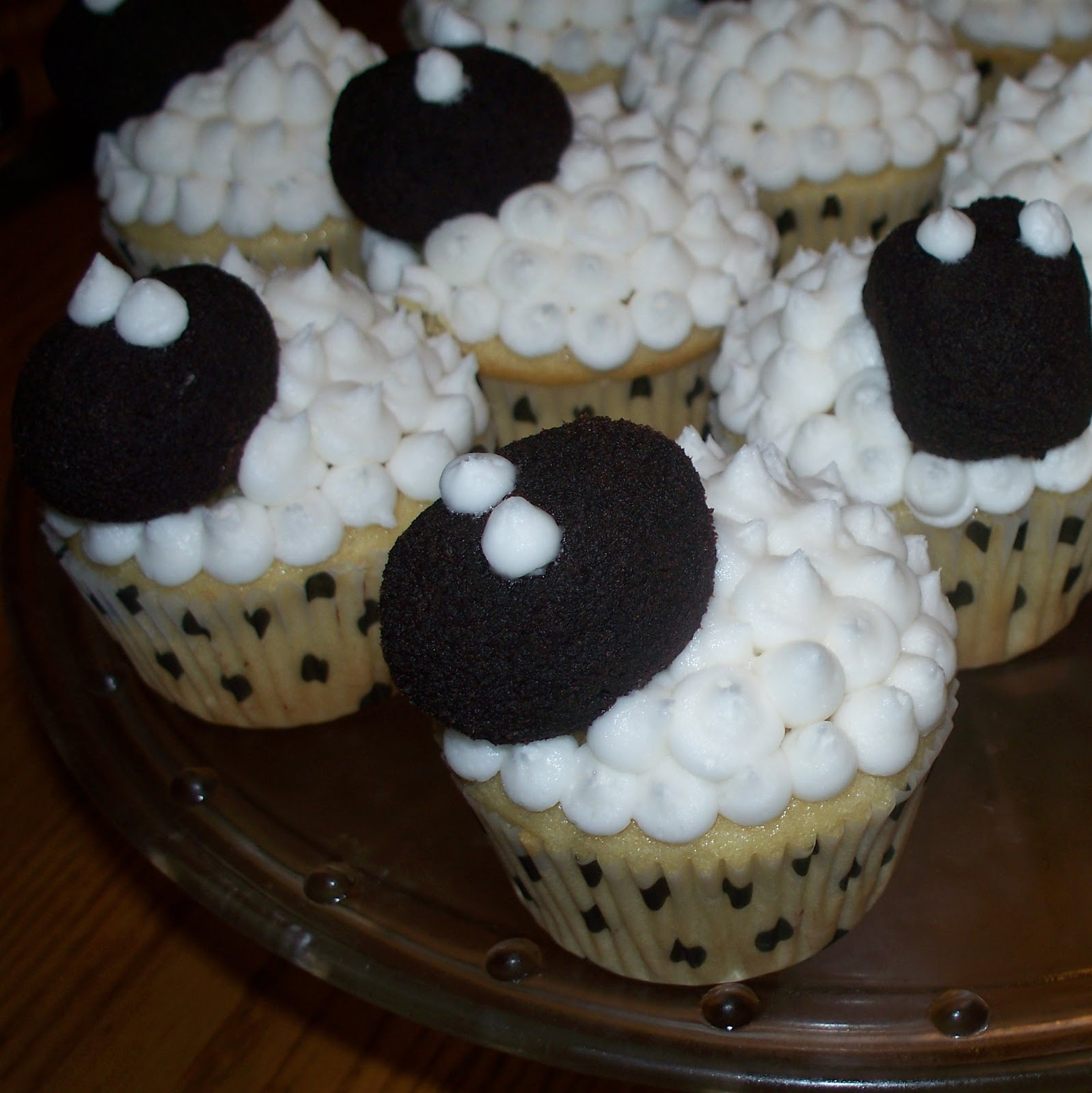 Make Do Sheep Cupcakes for Skylander Party