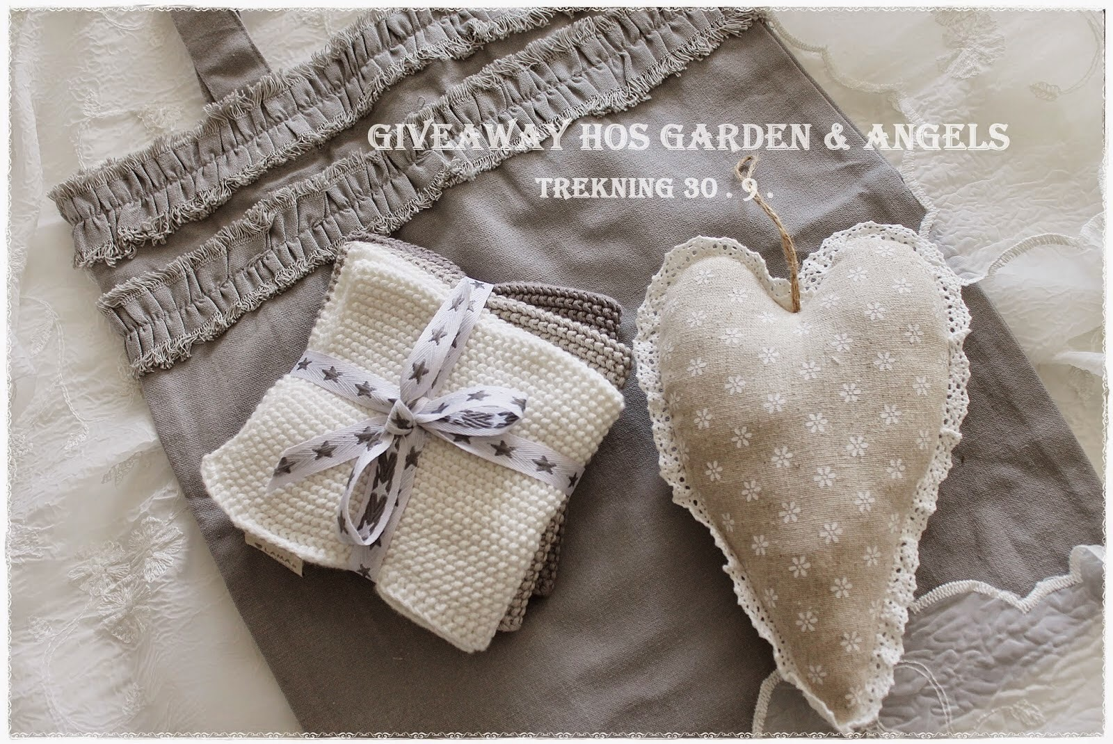 Give away hos Gardens and Angels