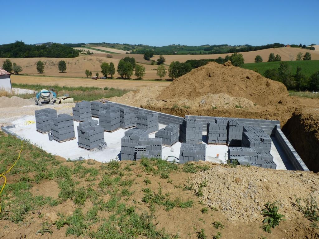 Plan de maison sous sol complet for Modele maison avec sous sol complet