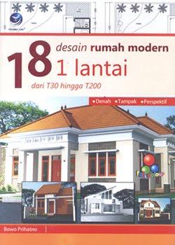 bowo prihatno & partners: 18 desain rumah modern 1 lantai