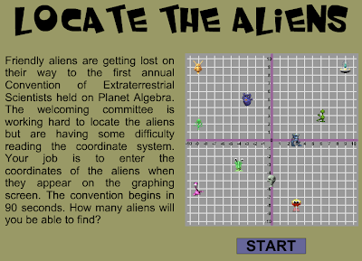 Locate the Aliens