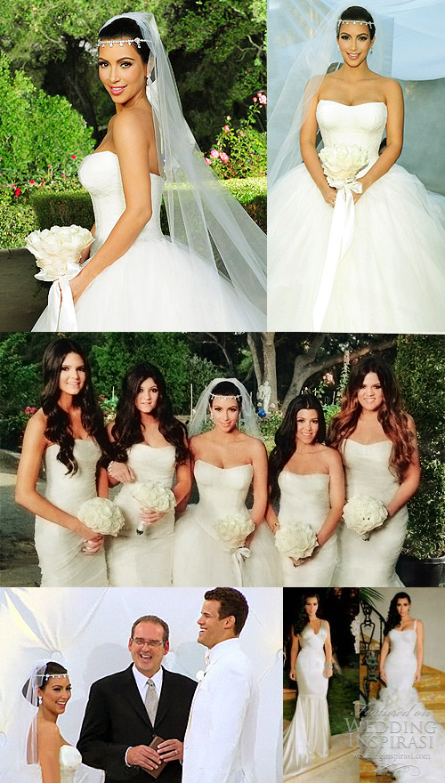 2016 Wedding Dresses a... Kim Kardashian Wedding